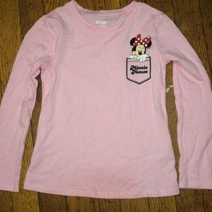 EUC MINNIE MOUSE TODDLER LONG SLEEVE 💖